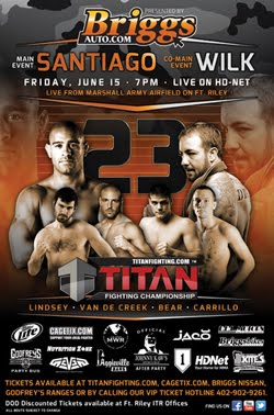 Titan Fighting Championships 23 / Борьба чемпионате 23